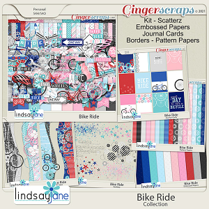 Bike Ride Collection by Lindsay Jane