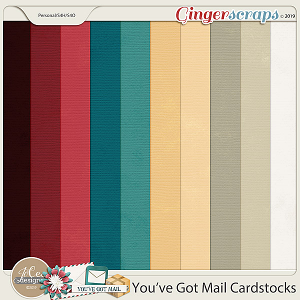 You've Got Mail Cardstocks by JoCee Designs