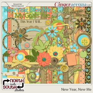 New Year, New Me {Collab Kit} by North Meets South Studios
