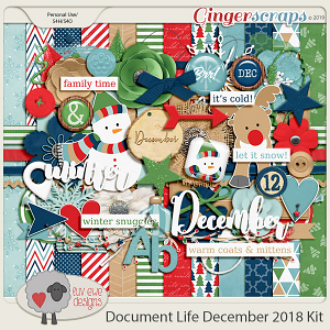 Document Life December 2018 Kit by Luv Ewe Designs
