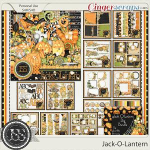 Jack O Lantern Digital Scrapbooking Bundle
