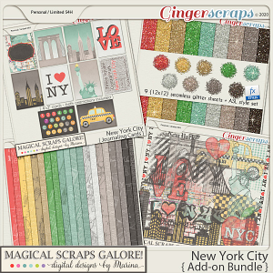 New York City (add-on bundle)