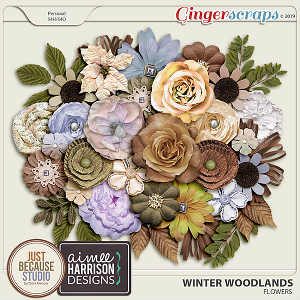 Winter Woodlands Flowers by JB Studio & Aimee Harrison Designs