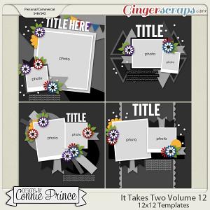It Takes Two Volume 12 - 12x12 Temps (CU Ok)