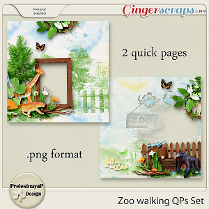 Zoo walking QPs Set