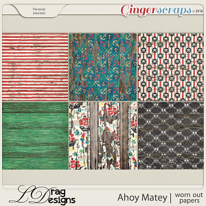 Ahoy Matey: Worn Out Papers by LDragDesigns