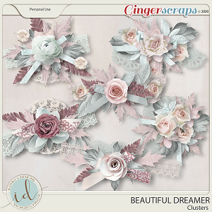 Beautiful Dreamer Clusters by Ilonka's Designs