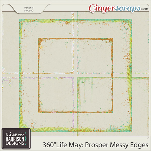 360°Life May: Prosper Messy Edges by Aimee Harrison