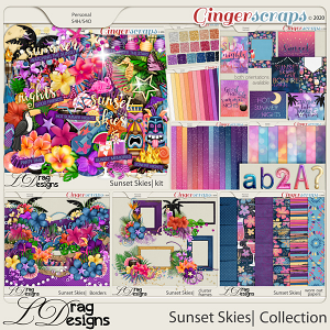 Sunset Skies: The Collection by LDragDesigns