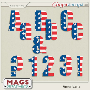 Americana ALPHA by MagsGraphics