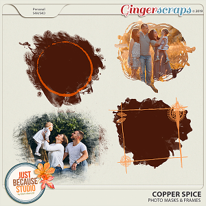 Copper Spice Photo Masks & Frames by JB Studio
