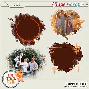 Copper Spice Photo Masks & Frames by JB Studio