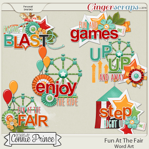 Fun At The Fair - Word Art Pack