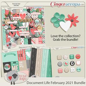 Document Life February 2021 Bundle by Luv Ewe Designs