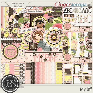 My Bff Digital Scrapbooking Bundle