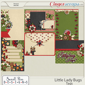 Little Ladybugs Tags