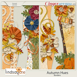 Autumn Hues Borders by Lindsay Jane