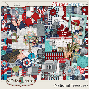 National Treasure Kit by Scraps N Pieces