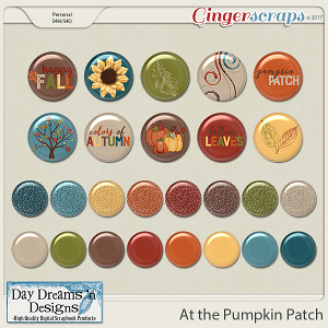 At the Pumpkin Patch {Flairs} by Day Dreams 'n Designs