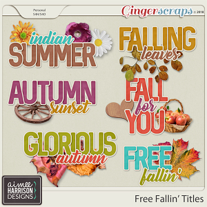Free Fallin' Titles by Aimee Harrison