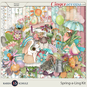 Spring-a-Ling Kit by Snickerdoodle Designs