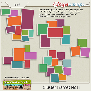 Cluster Frames No11 by Clever Monkey Graphics