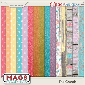 The Grands SPECIALTY PAPER PACK by MagsGraphics