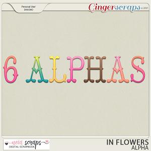 In Flowers - Alpha - by Neia Scraps