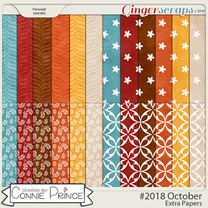 #2018 October - Extra Papers by Connie Prince