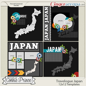 Travelogue Japan - 12x12 Temps (CU Ok)