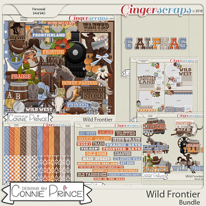 Wild Frontier - Bundle by Connie Prince