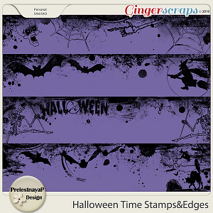 Halloween time Stamps&Edges