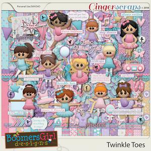 Twinkle Toes by BoomersGirl Designs
