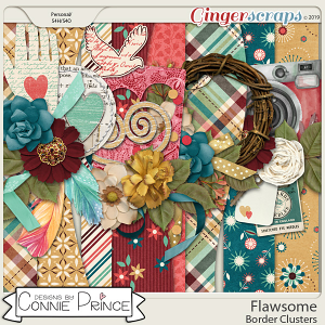 Flawsome - Border Clusters by Connie Prince