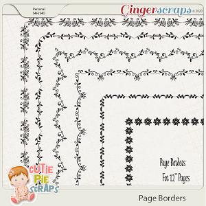 Page Borders 07 By Cutie Pie Scraps