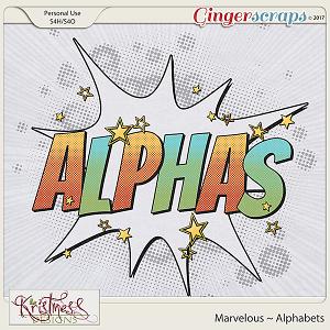Marvelous Alphabets