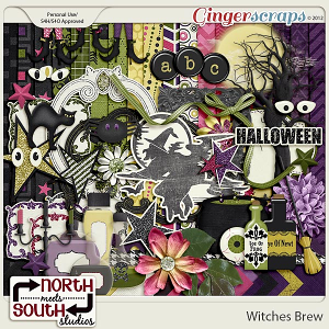 Witches Brew Collab Kit by North Meets South Studios