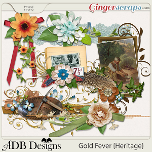 Gold Fever Heritage Clusters by ADB Designs