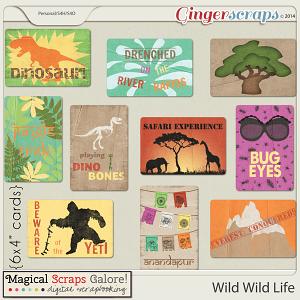 Wild Wild Life (journaling cards)