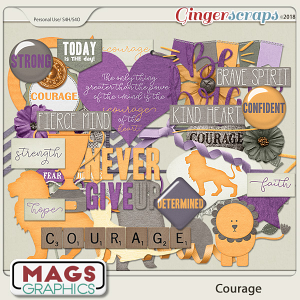 Courage ELEMENTS by MagsGraphics