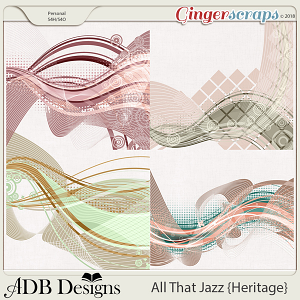 All That Jazz Page Overlays