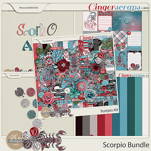Scorpio Bundle by JoCee Designs