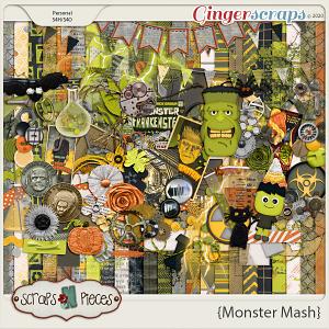 Monster Mash Bundled Kit - Scraps N Pieces