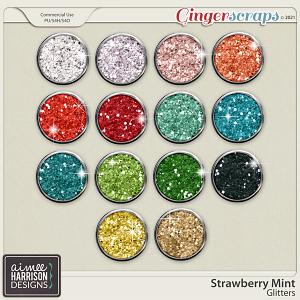 Strawberry Mint Glitters by Aimee Harrison