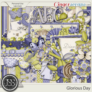 Glorious Day Digital Scrapbook Kit