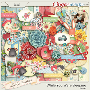 While You Were Sleeping Page Kit