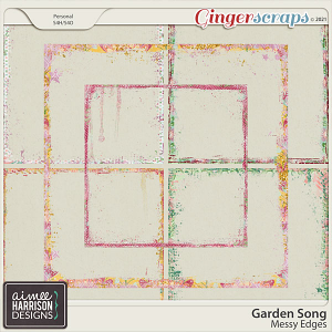 Garden Song Messy Edges by Aimee Harrison