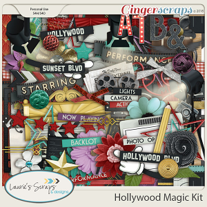 Hollywood Magic Page Kit