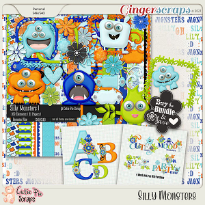 Silly Monsters  Bundle
