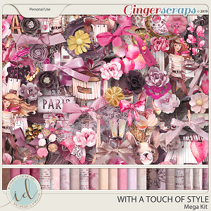 With A Touch Of Style Mega Kit by Ilonka's Designs